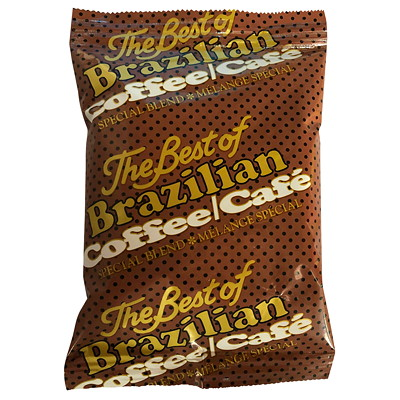 Brazilian Silex 'A' Ground Coffee, 1.75 oz, 64/CS - Ontario and Quebec Residents Only  A9 ONLY