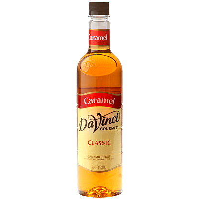 Da Vinci Gourmet Flavoured Syrup, Classic Caramel, 750 mL FLAVORED SYRUP