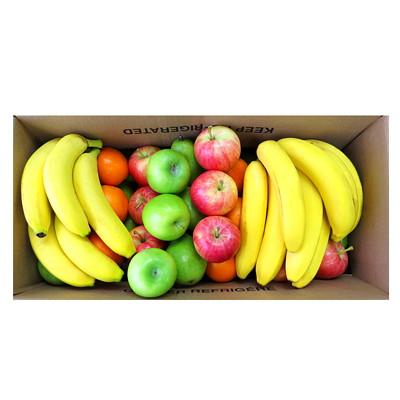 Caisse de fruits frais variés - grande (75 fruits) ASST APPROX 75 PIECES