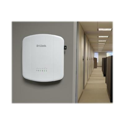 D-Link DWL-8610AP - wireless access point Point. 802.11AC PoE Simultaneo us Dual Band.Lifetim