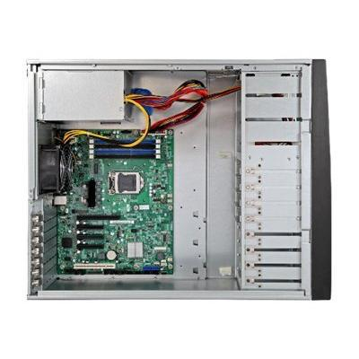 4U Pedestal (Rackable) Server Systems LGA1155 4x DDR3-1333 3 2GB UECC 9xUSB 6xSAT