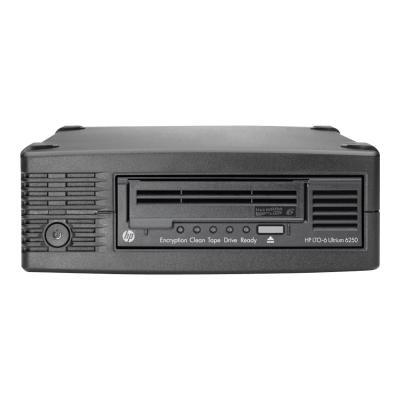 HPE StoreEver 6250 - tape drive - LTO Ultrium - SAS-2  EXT
