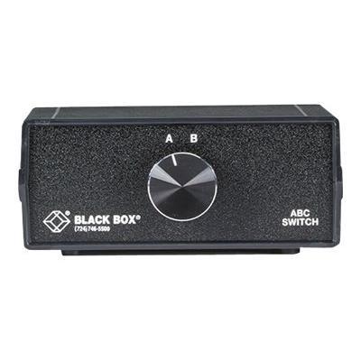 Black Box ABC Manual Switch - switch - 2 ports -100A