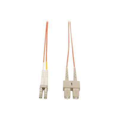 Tripp Lite 3M Duplex Multimode 62.5/125 Fiber Optic Patch Cable LC/SC 10' 10ft 3 Meter - patch cable - 3 m 125