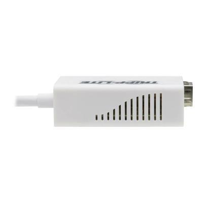 Tripp Lite USB-A 3.1 to Fiber Optic Gigabit Ethernet Adapter, Open SFP Port for Singlemode/Multimode, 1310 nm, LC - network adapter - USB 3.1 - Gigabit SFP x 1 T ADAPTER