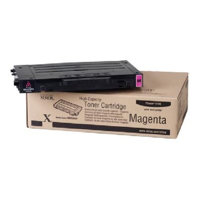 Xerox High-Capacity Phaser 6100 - High Capacity - magenta - original - toner cartridge  to 5000 pages - Phaser 6100 ages at 5% coverage
