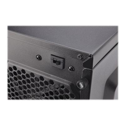 CORSAIR Carbide Series 100R - Silent Edition - tower - ATX  Tower Case  2xFront USB3.0  S upports Mini-ITX/Mic