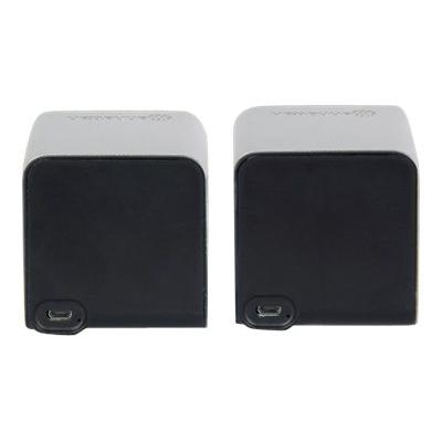 Manhattan Lyric Duo - speakers - for portable use - wireless . Wireless 3D sound quality th at has a 30 ft range