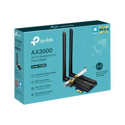 TP-Link Archer TX50E - adaptateur réseau - PCIe  CTLR
