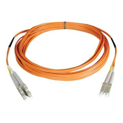 Tripp Lite 1M Duplex Multimode 62.5/125 Fiber Optic Patch Cable LC/LC 3' 3ft 1 Meter - patch cable - 1 m - orange  CABL