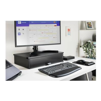 Kensington UVStand Monitor Stand with UV Sanitization Compartment - monitor stand with drawer OMPARTMENT