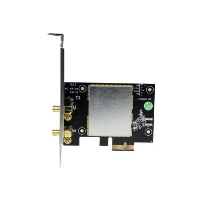 StarTech.com AC600 Wireless-AC Network Adapter - 802.11ac, PCI Express - Dual Band 2.4GHz / 5GHz PCIe Wireless Network Card (PEX433WAC11) - network adapter nnectivity to a computer or se rver through a PCI E