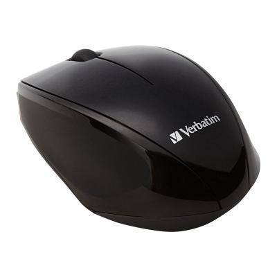 Verbatim Wireless Multi-Trac Blue LED - mouse - black OPTICAL MOUSE - BLACK