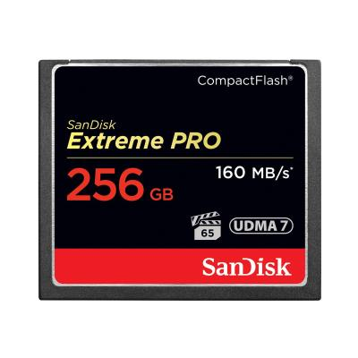 SanDisk Extreme Pro - flash memory card - 256 GB - CompactFlash ompactFlash Card