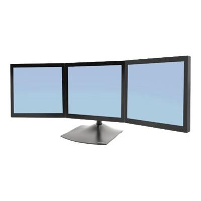 Ergotron DS100 Triple-Monitor Desk Stand - stand - for 3 LCD displays d; Product Includes Base  14 pole  Paraview bow