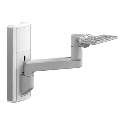 Humanscale V6 Wall Station - mounting component ht Arms - extends 33 from wall  for Keyboard