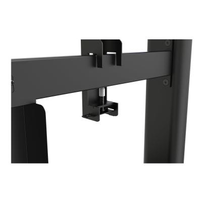 StarTech.com Digital Signage Display Stand - Black - Locking - stand - for LCD display rovides a secure mount for a 4 5 to 55in TV (with m