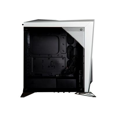 CORSAIR Carbide Series SPEC-OMEGA - tower - ATX GA RGB Mid-Tower Tempered Glas s Gaming Case  White