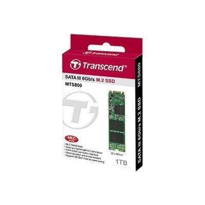 Transcend MTS800 - solid state drive - 1 TB - SATA 6Gb/s  BULK