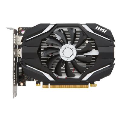 MSI GTX 1050 2G OC - graphics card - NVIDIA GeForce GTX 1050 - 2 GB e  7000 MHz  128 bits  TDP 75 W  PSU300 W  DL-DVI-