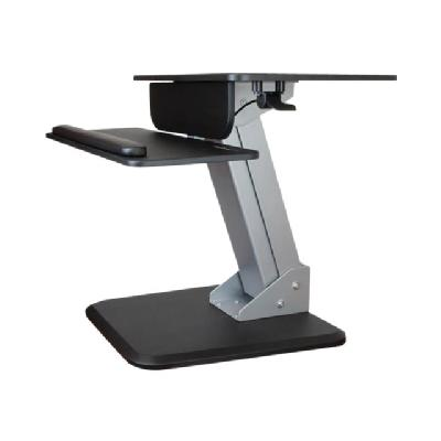 StarTech.com Dual Monitor Sit-to-Stand Workstation - One-Touch Height Adjustment (BNDSTSDUAL) - mounting kit d workspace with easy height a djustment and a dual