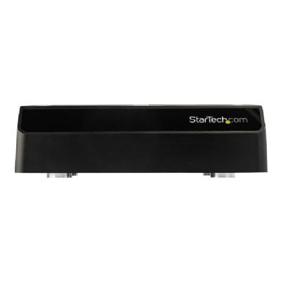 """StarTech.com 4-Bay SATA SSD/HDD Docking Station - External USB 3.1 (10Gbps) SATA SS/HDD Dock for 2.5""""/3.5"""" SSDs/HDDs (SDOCK4U313) - storage enclosure - SATA 6Gb/s - USB 3.1 (Gen 2) (Australia, Japan, New Zealand, United Kingdom, Europe, North Asia) r SSDs/HDDs simultaneously  an d swap drives in and"""