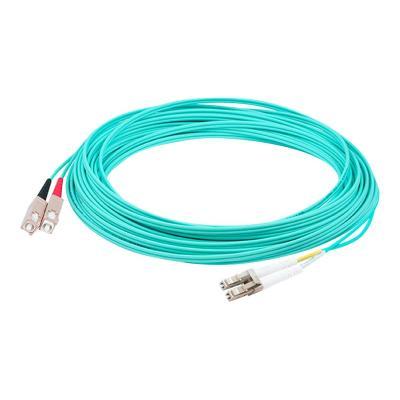AddOn 9m LC to SC OM3 Aqua Patch Cable - patch cable - 9 m - aqua  CABL