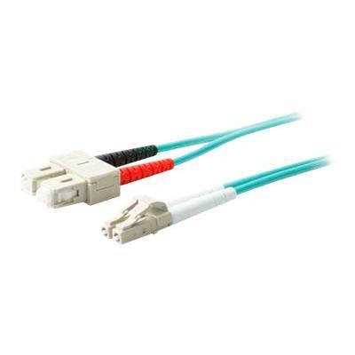 AddOn 2m LC to SC OM3 Aqua Patch Cable - patch cable - 2 m - aqua  CABL