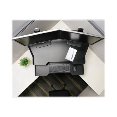 Ergotron WorkFit Corner - adaptateur en bureau debout