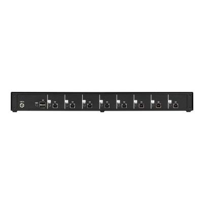 Black Box SECURE NIAP - keyboard/mouse/audio switch - 8 ports  SECURE