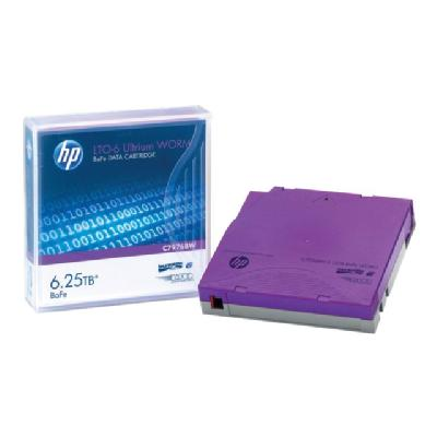HPE - LTO Ultrium WORM x 1 - 2.5 TB - storage media WORM Data Cartridge