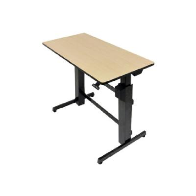 Ergotron WorkFit-D Sit-Stand Desk - table  SURFACE