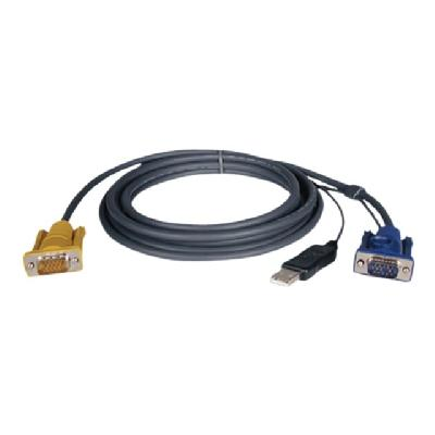 Tripp Lite 6ft USB Cable Kit for KVM Switch 2-in-1 B020 / B022 Series KVMs 6' - video / USB cable - 1.83 m 2 SERIES KVM