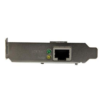 StarTech.com 1 Port PCI Express PCIe Gigabit NIC Network Card - Low Profile - network adapter  CTLR