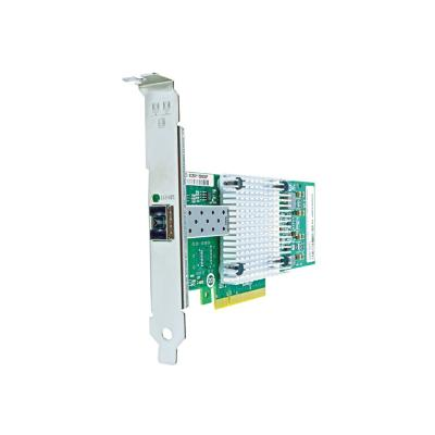 Axiom - network adapter - PCIe 2.0 x8 - 10GBase-SR x 1 CIe x8 NIC for Intel w/Transce iver - E10G41BFSR