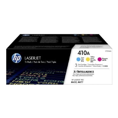 HP 410A - 3-pack - yellow, cyan, magenta - original - LaserJet - toner cartridge (CF251AM) TRIDGE