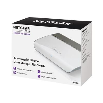 NETGEAR GS908 - switch - 8 ports - unmanaged (Latin America, North America)  PERP
