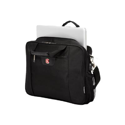 SwissGear Friendly Briefcase notebook carrying case  computer compartment with int erlocking zippers th