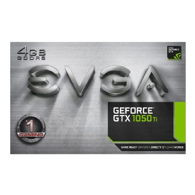 EVGA GeForce GTX 1050 Ti Gaming - graphics card - NVIDIA GeForce GTX 1050 - 4 GB AN