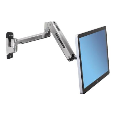 Ergotron LX HD Sit-Stand Wall Arm - mounting kit - for LCD display  Arm