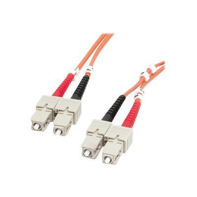 StarTech.com 2m Fiber Optic Cable - Multimode Duplex 62.5/125 - LSZH - SC/SC - OM1 - SC to SC Fiber Patch Cable (FIBSCSC2) - network cable - 2 m  CABL