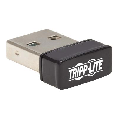 Tripp Lite USB 2.0 Wi-Fi Adapter, AC600 2.4Ghz/5Ghz Dual Band, 1T1R, 802.11ac - network adapter - USB 2.0 reless Ethernet 2.4 GHz and 5 GHz