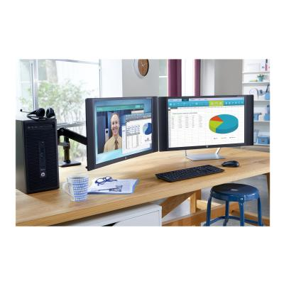 HP Single Monitor Arm - mounting kit - for LCD display