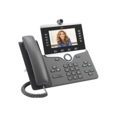 Cisco IP Phone 8845 - visiophone IP - avec appareil photo numérique, Interface Bluetooth