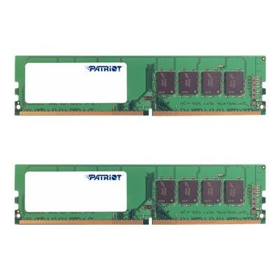 Patriot Signature Line - DDR4 - 16 GB: 2 x 8 GB - DIMM 288-pin - unbuffered