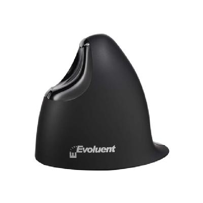 Evoluent VerticalMouse 4 Right Mac - mouse - Bluetooth ooth MAC  Right Handed Model Standard Size  Black