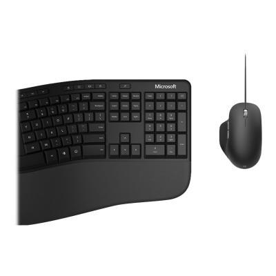 Microsoft Ergonomic Desktop for Business - keyboard and mouse set - QWERTY - English - black