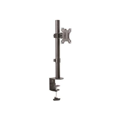 "StarTech.com Monitor Desk Mount - Adjustable - Supports Monitors 12"" to 34"" - Heavy Duty Single Screen VESA Monitor Arm -Desk & Grommet Clamp -Black (ARMPIVOTV2) - desk mount  MNT"