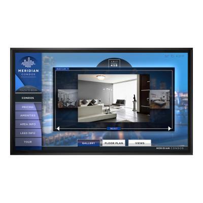 "Planar EPX100-T EPX Series - 100"" LED display - 4K x 2160 - 700 nits - 3000:1 - 6 .5 Ms - DisplayPort"