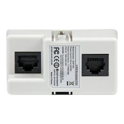 StarTech.com In-Wall 300 Mbps 2T2R Wireless-N Access Point - wireless access point  WRLS